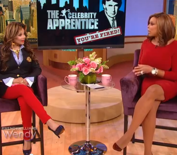 [WATCH] LaToya Jackson Insists Omarosa Uses Her Fiances Death As Leverage on 'Celebrity Apprentice' + Omarosa's Attorney Releases Statement