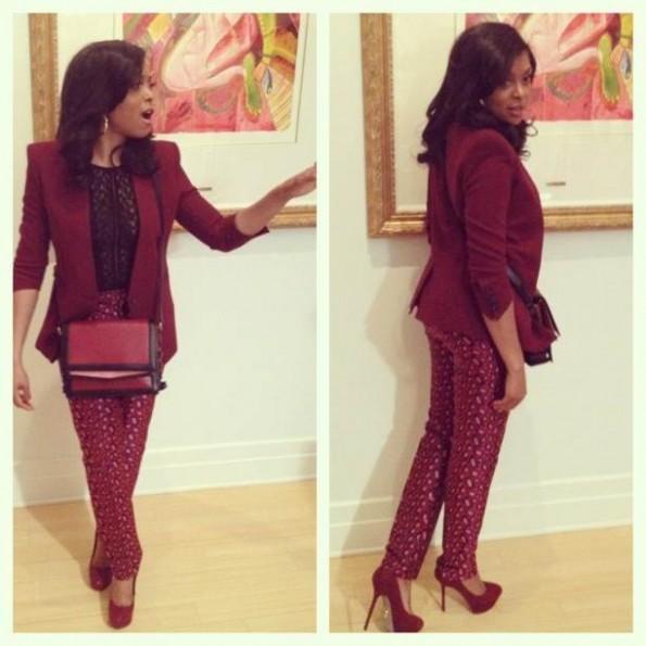 Taraji P. Henson-kenzo collection-fashion-2013-thejasminebrand