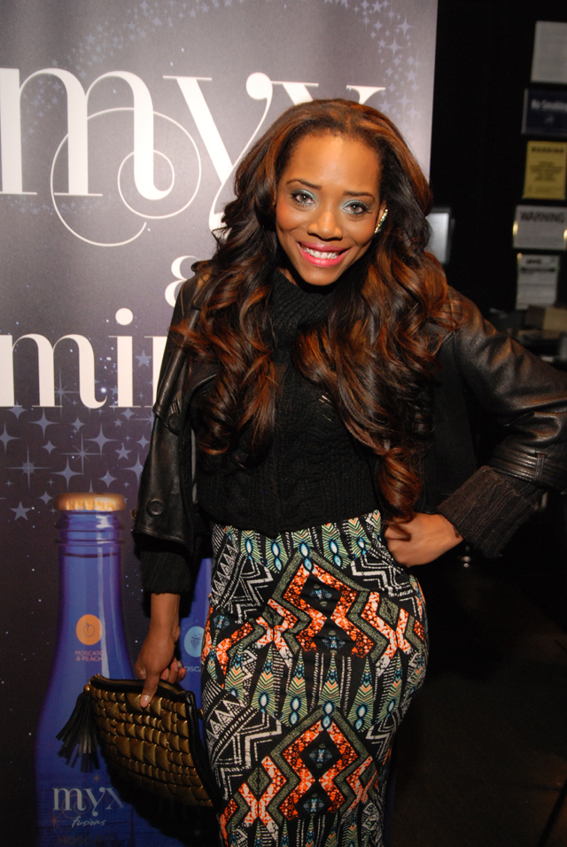 Yandy Smith-the gossip game premiere-the jasmine brand