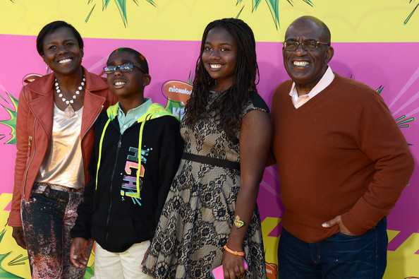 al roker family-kids choice awards 2013-the jasmine brand