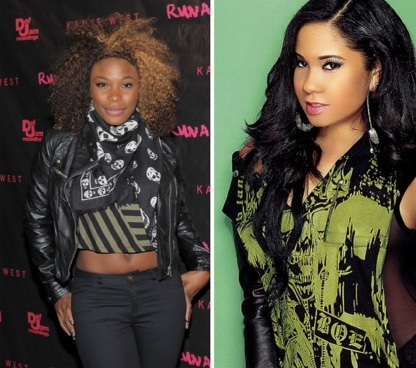 Tension Brewing Already Between 'The Gossip Game' Reality Stars Angela Yee & Kay Foxx
