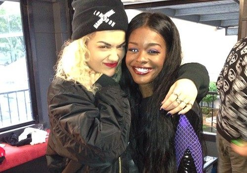 "Azealia Banks Pops Slick With Rita Ora, Throws Twitter Insults: ""You're Rihanna's Understudy."""