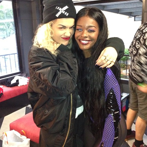 azealia banks-twitter beef with rita ora-the jasmine brand
