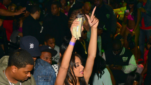 Drake, Draya Michelle Take Over Charlotte Strip Club During CIAA