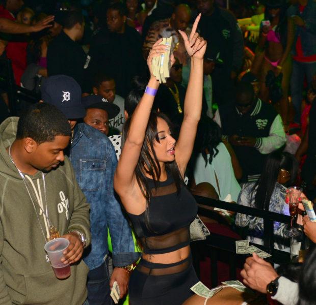 Drake, Draya Michelle Take Over Charlotte Strip Club During CIAA
