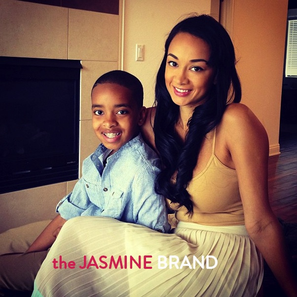 Draya Michele (of Basketball Wives LA) and her son look both dapper