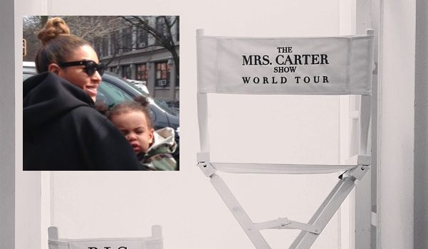 Beyonce Makes Blue Ivy's Presence Known For the 'Mrs. Carter Show'