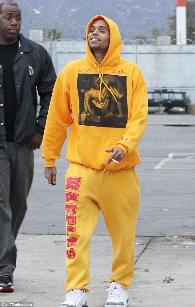 Caio Cesar, Chris Brown, Mitch King & Alex Gasperetti for ... |Chris Brown Fashion Style 2013