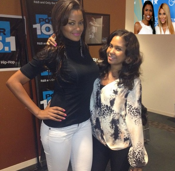 claudia jordan-the breakfast club-addresses tamar braxton and omarosa-the jasmine brand