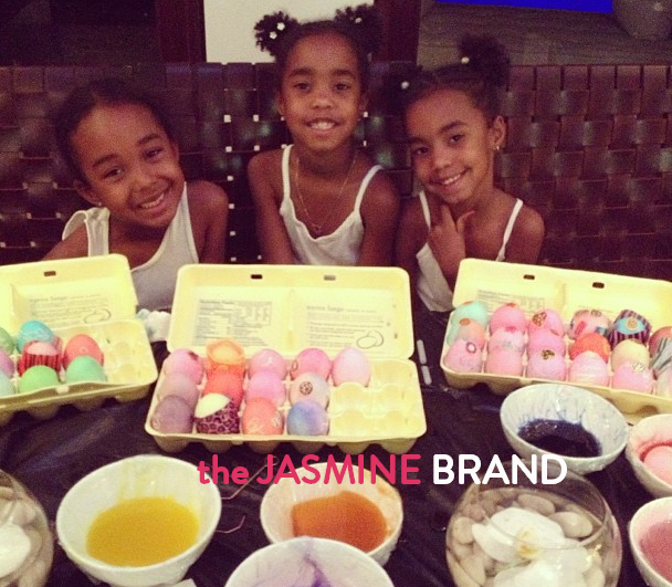 diddys daughters easter a-the jasmine brand