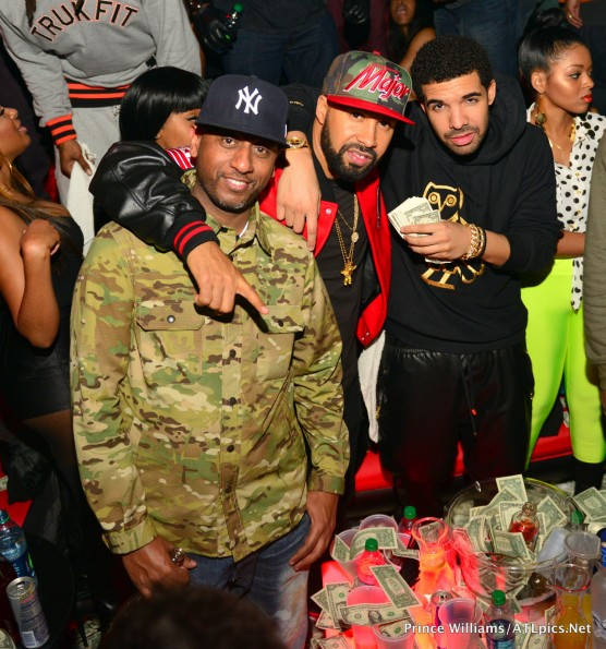 drake-kenny burns-basketball wives-draya michele-ciaa strip club 2013-the jasmine brand
