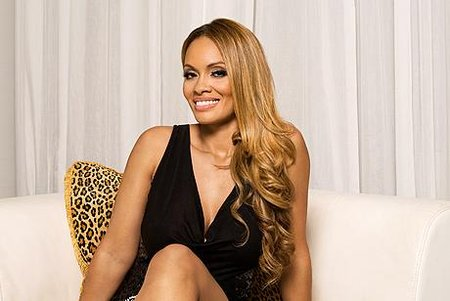 Evelyn Lozada Hints At Clothing Line With American Apparel