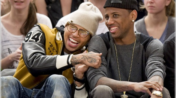Celebrities court side at Madison Square Garden for the Knicks Vs Oklahoma City Thunder