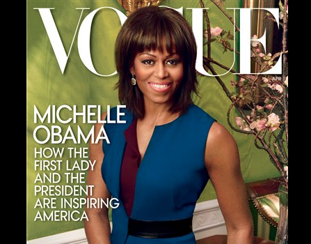 First Lady Michelle Obama Covers VOGUE, Defends Claims That The Obama's Aren't Social Enough