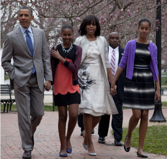 flotus-potus-obama first family-easter 2013-the jasmine brand