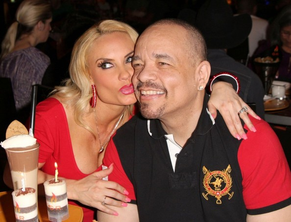 ice t-throws coco birthday dinner party-in las vegas 2013-the jasmine brand