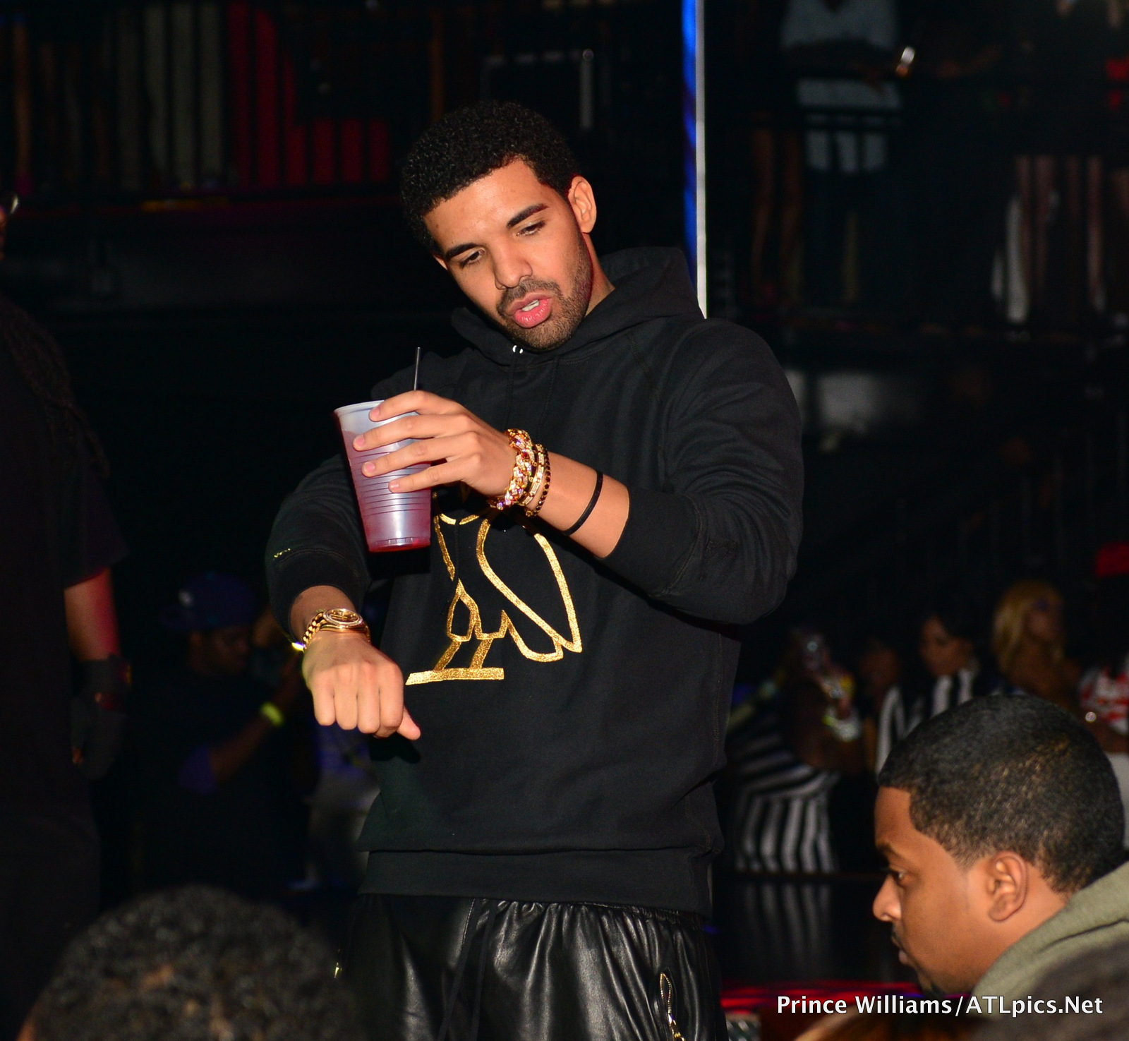 Drake Draya Michelle Take Over Charlotte Strip Club