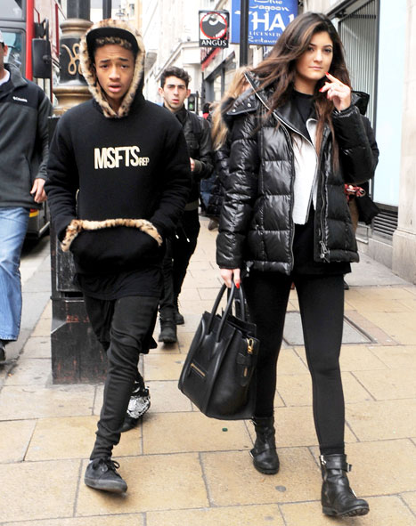 jaden smith-kylie jenner-kim kardashians sister dating-the jasmine brand