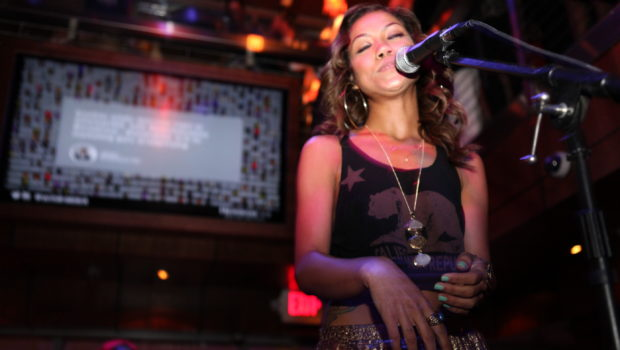 [Photos] Jhene Aiko Takes Over Washington, DC's 'Park at Fourteenth'