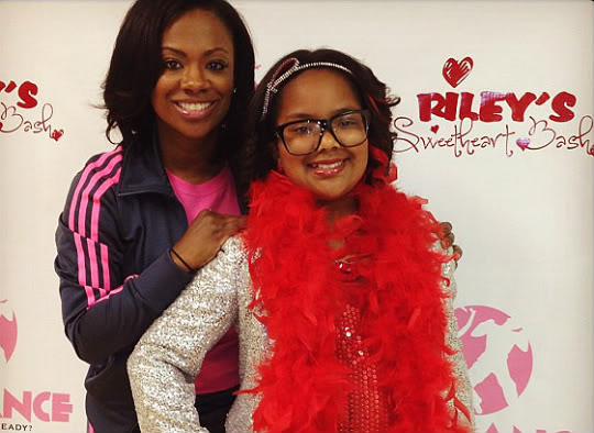 kandi burruss-daughter riley-the jasmine brand