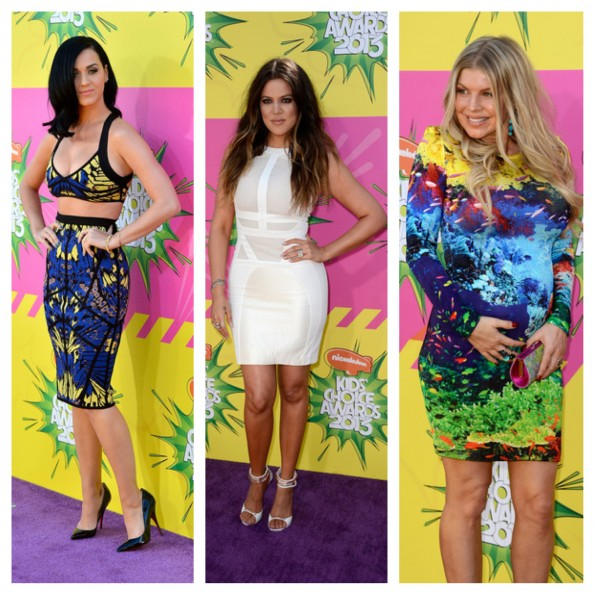 katy perry-khloe kardashian-fergie-kids choice awards 2013-the jasmine brand
