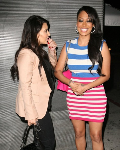 kim kardashian-lala anthony-nobu dinner-los angeles-the jasmine brand