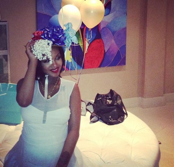 [Photos] Cassie Throws Lola Monroe A Festive, Hollywood Hills, Baby Shower Bash
