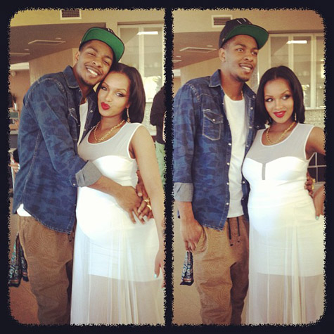 Rappers Lola Monroe & Los Deliver Healthy Baby Boy