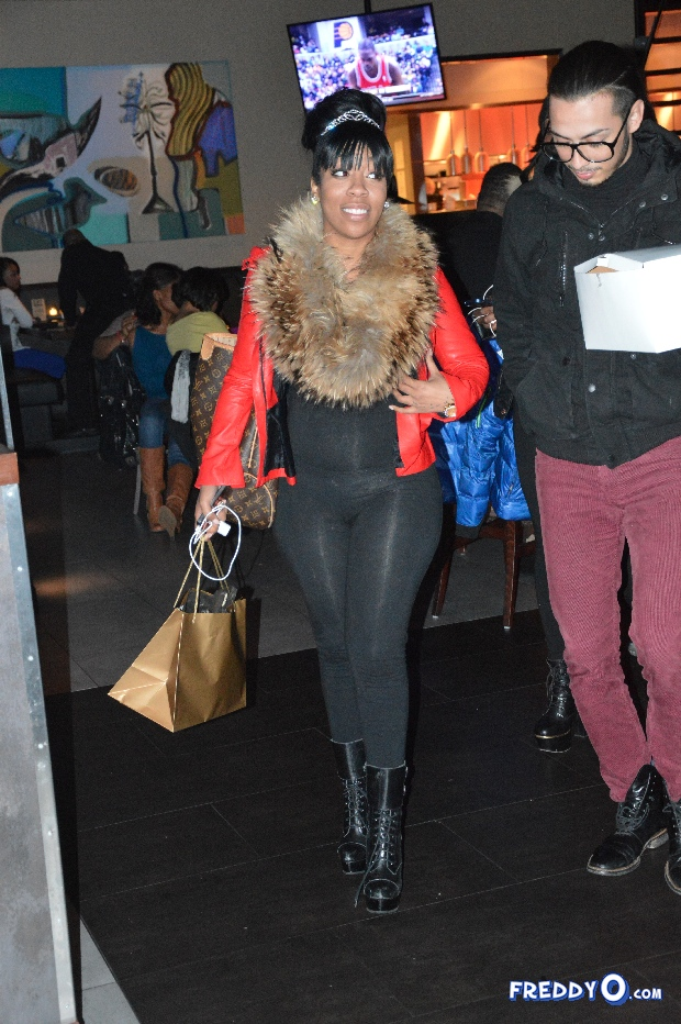 K.Michelle Celebrates Birthday in ATL With Cake, Friends ... K Michelle 2013 Photoshoot