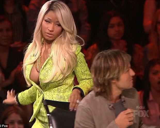 [WATCH] Nicki Minaj Gets Pissy At American Idol Results, Almost Walks Off Stage
