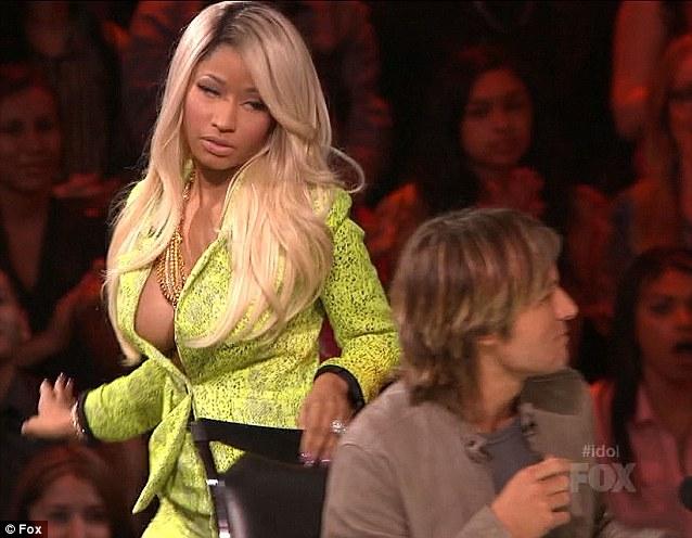 Nicki Minaj Thong American Idol [WATCH] Nicki Minaj Ge...
