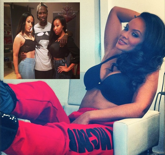 Ochocinco Takes Twitter Jabs At Evelyn Lozada + Shaniece Jumps To Her Mother's Defense: Ocho, You Should Rot in Hell!