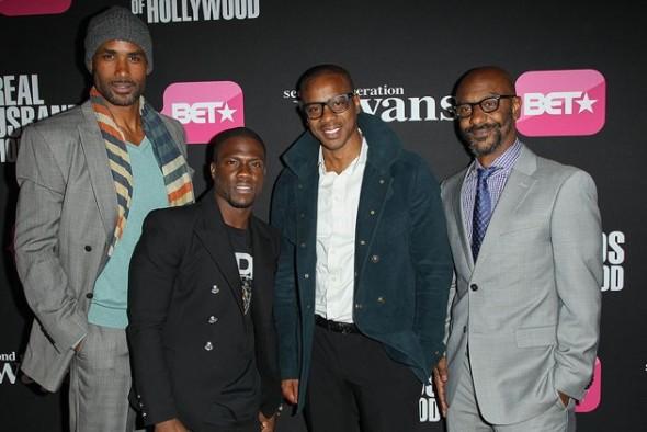 Boris Kodjoe, Kevin Hart, Duane Martin, BET's Stephen G. Hill