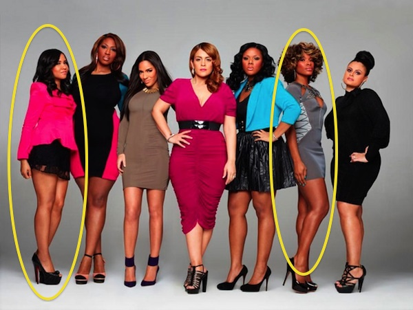 Tension Heats Up Between Angela Yee & K.Foxx During 'The Gossip Game' Screening