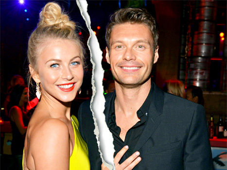 Ryan Seacrest Is Back On the Market, Girlfriend Julianne Hough Break-Up