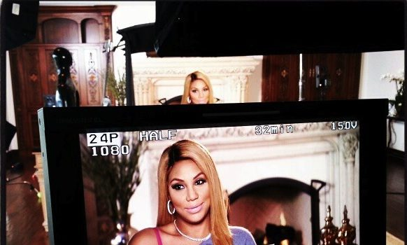 Faith Evans & Nicci Gilbert Film New Season + Tamar and Vince Spotted Filming Season 2