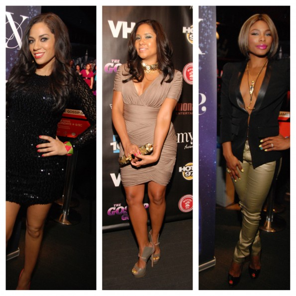 the gossip game premiere-sharon carpenter-angela yee-k.foxx-the jasmine brand
