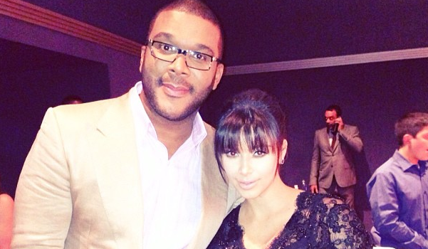 [Photos] Tyler Perry Kicks Off 'Temptation' Movie Premiere in Atlanta With Kim Kardashian & Lance Gross
