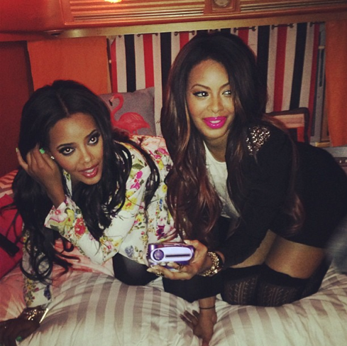 Vanessa Simmons Lands Lead Role in Hollywood + Sister Angela Simmons Gets More Digital, Launches New Website