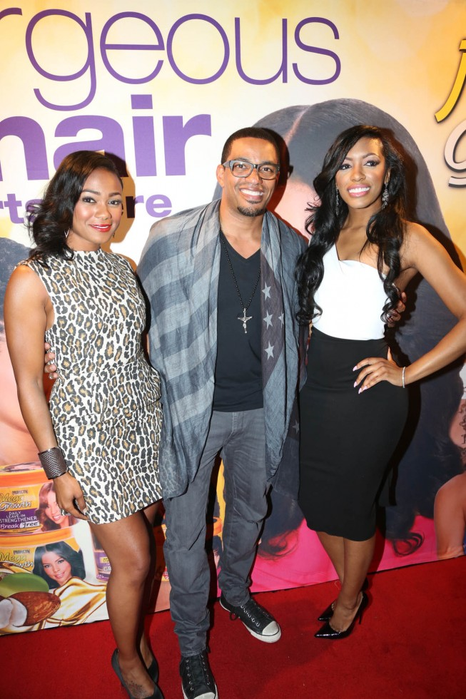 "Laz Alonso And Tatyana Ali Host The Relaunch Of MegaGrowth At ""The Mane Event"""