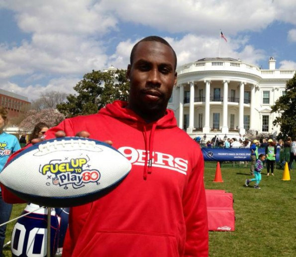 49ers-anquan boldiin-easter egg roll 2013-the jasmine brand