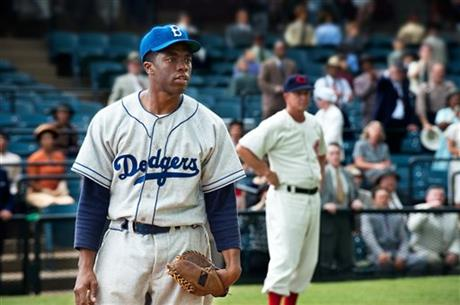 Jackie Robinson's Film, 42, Wins At Box Office