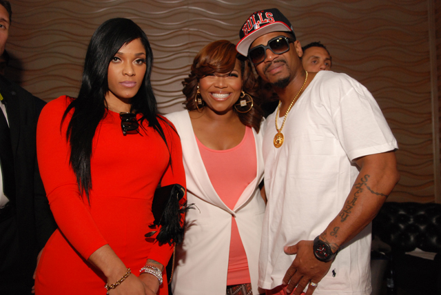 Joseline - Mona - Stevie J-love and hip hop atl-nyc premiere-the jasmine brand