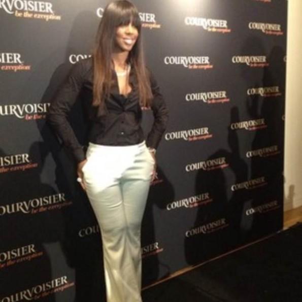 Kelly Rowland- black and white pantsuit-NYC-fashion-thejasminebrand