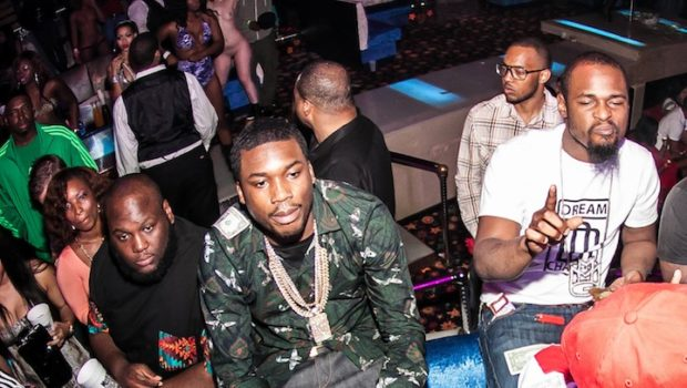 Rapper Meek Mill Shares The Wealth, Gets Money Happy At Miami Strip Club