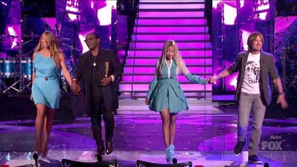 Nicki Minaj-Mariah Carey- American Idol-fashion-thejasminebrand