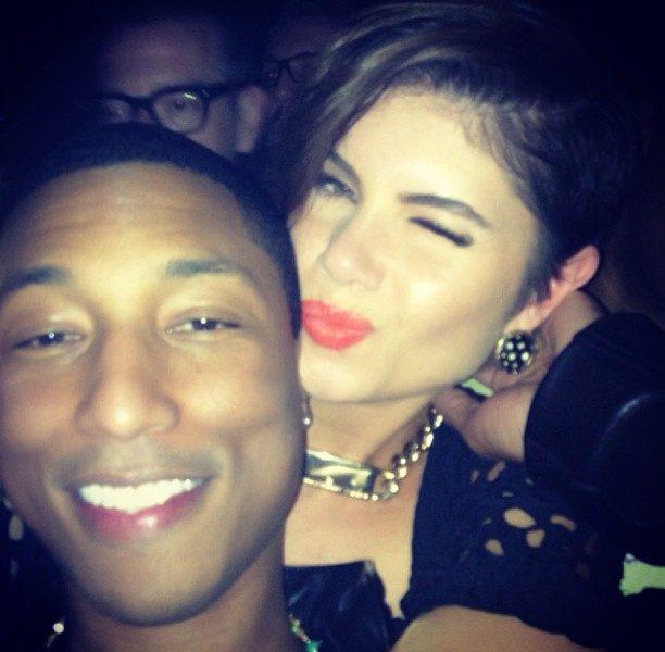 [Photos] Pharrell Turns 40 With Lil Wayne, Miley Cyrus, Jennifer Hudson & T.I.