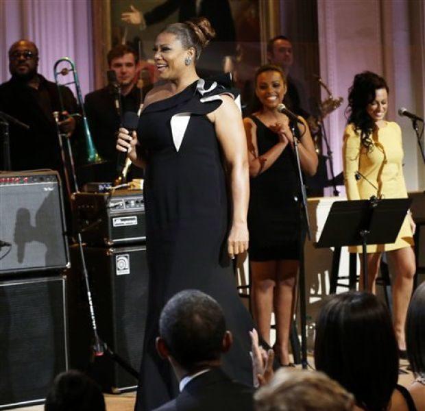 Queen Latifah, Justin Timberlake Bring Memphis Soul Music to White House