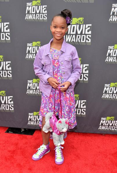 Quvenzhane Wallis-mtv movie awards 2013-the jasmine brand
