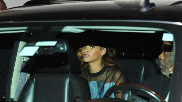 Rihanna Shares the Wealth, Hits Popular ATL Strip Club After Concert